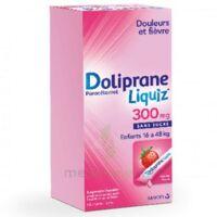 Dolipraneliquiz 300 mg Suspension buvable en sachet sans sucre édulcorée au maltitol liquide et au sorbitol B/12 à CANEJAN