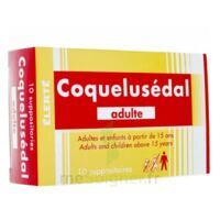 COQUELUSEDAL ADULTES, suppositoire à CANEJAN