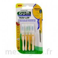 GUM TRAV - LER, 1,3 mm, manche jaune , blister 4 à CANEJAN
