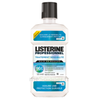 Listerine Professionnel Bain bouche traitement sensibilité 500ml à CANEJAN