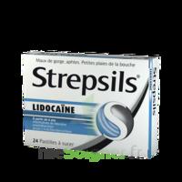 Strepsils lidocaïne Pastilles Plq/24 à CANEJAN