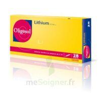 Oligosol Lithium Solution Buvable En Ampoule Ou En Récipient Unidose 28amp/2ml à CANEJAN