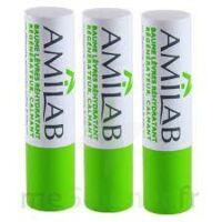 Amilab Baume labial réhydratant et calmant lot de 3 à CANEJAN