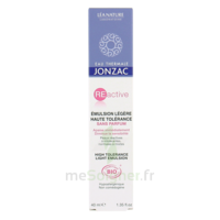 Jonzac Eau Thermale REactive Emulsion légère haute tolérance 40ml à CANEJAN