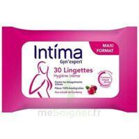 Intima Gyn'Expert Lingettes Cranberry Paquet/30 à CANEJAN