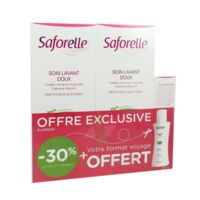 Saforelle Solution soin lavant doux 2*500ml+100ml à CANEJAN
