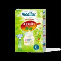 Modilac Céréales Farine 4 Fruits quinoa bio à partir de 6 mois B/230g à CANEJAN