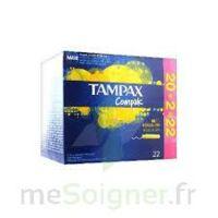 Tampax Compak - Tampon Régulier à CANEJAN