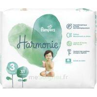 Pampers Harmonie Couche T3 géant paquet/31 à CANEJAN