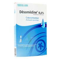 DESOMEDINE 0,1 % Collyre sol 10Fl/0,6ml à CANEJAN