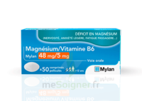 MAGNESIUM/VITAMINE B6 MYLAN 48 mg/5 mg, comprimé pelliculé à CANEJAN