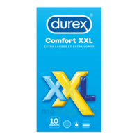 DUREX COMFORT XXL Préservatif lubrifié B/10 à CANEJAN